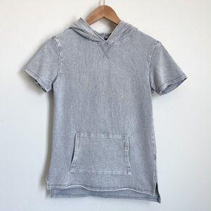 Art Class Boy's beachy short sleeve hooded shirt